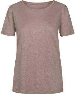 Gai & Lisva Liv T-shirt Hazy Brown