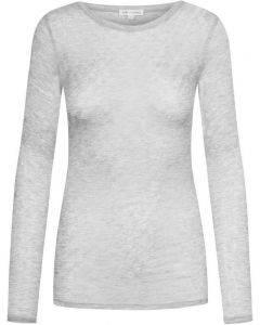 Gai & Lisva Fermi Bluse Light Grey