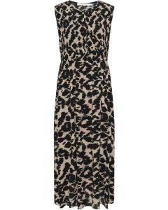 Costa Marni Brown Maxi Dress