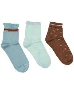 Mos Mosh Lurex Socks Mint Haze
