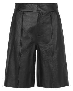 Notes Du Nord Taz Leather Shorts