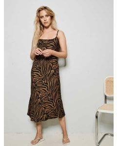 Underprotection Rania Slip Dress Camel